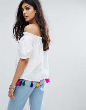 Off Shoulder Top- M001
