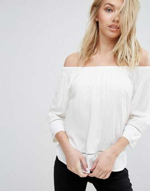MODISH Sleek Off Shoulder Top