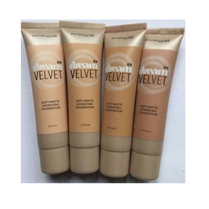 Maybelline Dream Velvet Hydrating Foundation- 4 Shades