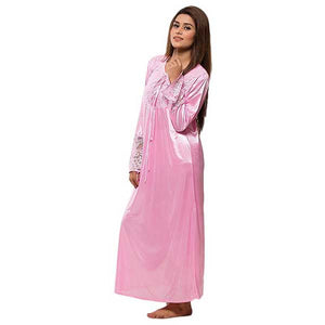 Silk Full Nighty- 4 Colors- C028