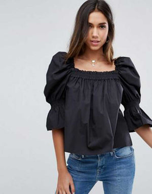 ZARA Black Top- Z0B1