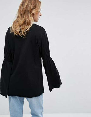 Tommy Sleek Black Shirt