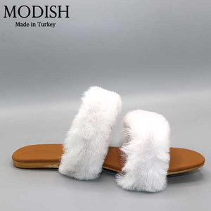 Modish Exclusive Fur Slide- M0058