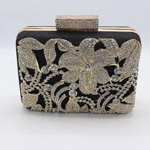 Beautful Design Fancy Clutch- 3 Colors- M031