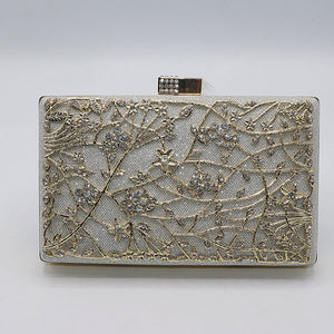 Beautiful Design Fancy Clutch- M032