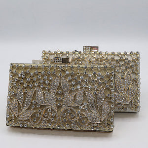 Shining Stones Fancy Clutch- 2 Colors- M032