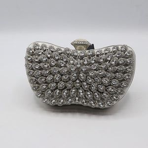 Double Side Embossed Fancy Clutch- M042