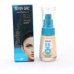 Seven Girl BB Cream Water Proof Foundation