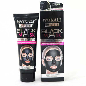 Wokali White Black Mask Whitening Solution & Peel Off