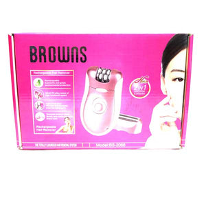 Browns Lady Hair Remover 2 in 1- BS-2068