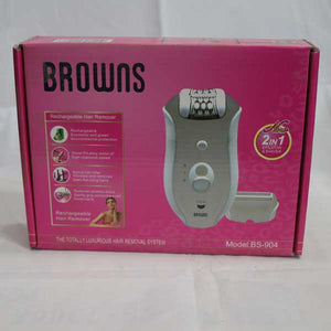 Browns Lady Hair Remover 2 in 1- BS-904