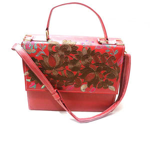 Beautiful Printed Leather Bag