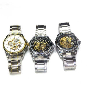 Stainless Steel Executive Watch- A0022