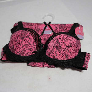 Printed Bra & Panty Set- 002