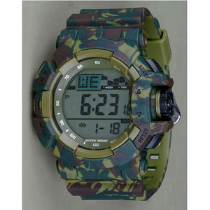 Green Army Digital Watch - K0020
