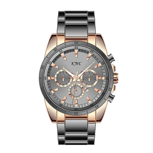 Stainless Steel & Black Dial Watch - K0027