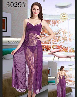 Long Net Nighty- N 24