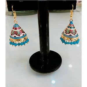 Multi Color Indian Jhumki- C013