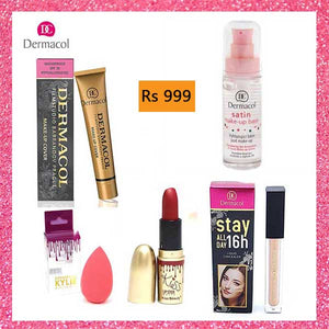 Deal 1 (Base,Primer,Concealer,Lip Stick,Blender)