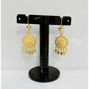 Gold Plated Indian Jhumki- E012