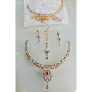 Necklace with Matha Tika- K0042