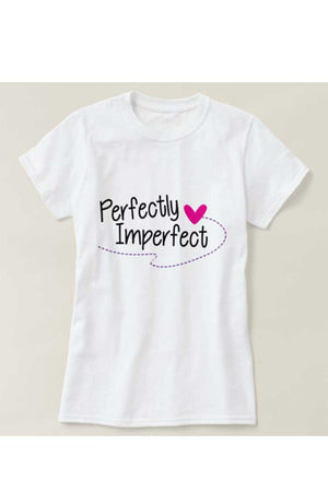 Perfectly Imperfect Print T-Shirt