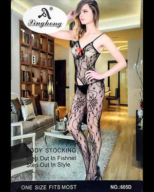 Stylish Fishnet Body Stocking- S489