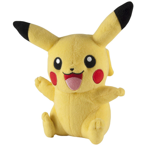 Pokemon Happy Pikachu plush