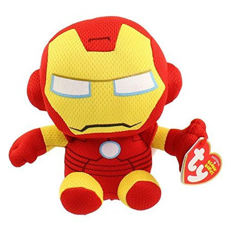 Iron man small TY beanie