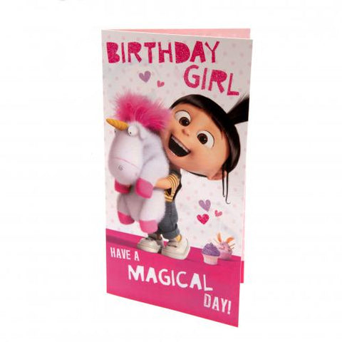 Magical day fluffy card