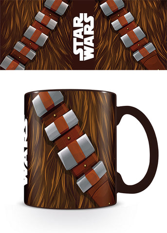 Star wars Chewbacca torso mug
