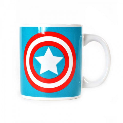 Captain America Logo Boxed Mug
