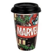 Marvel Comic Covers Travel Mug
