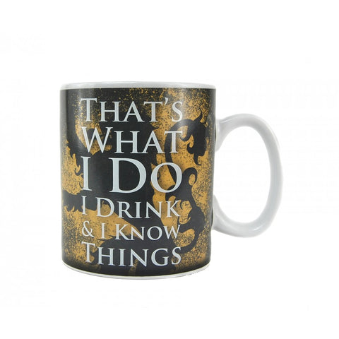 Game of Thrones Thats what I do heat change mug