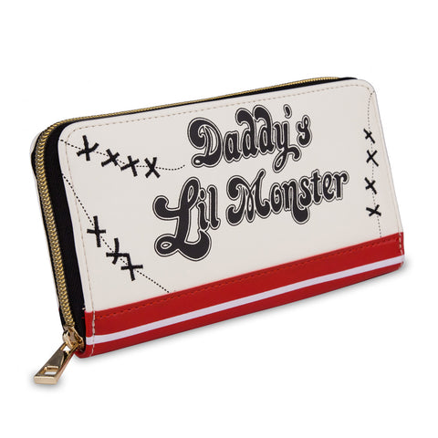 Daddys lil monster zip purse