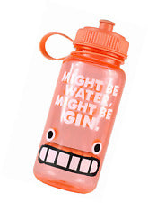 Could be gin water bottle
