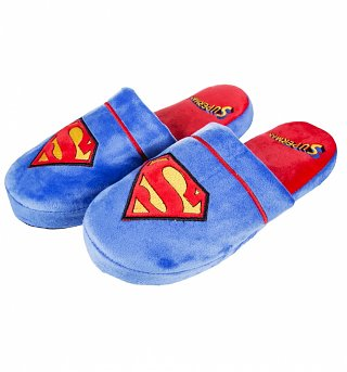 Superman slippers 8-10