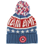 Captain america knitted beanie