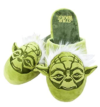 Yoda Fluffy Slippers