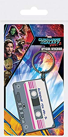 GOTGV2 mix tape keyring