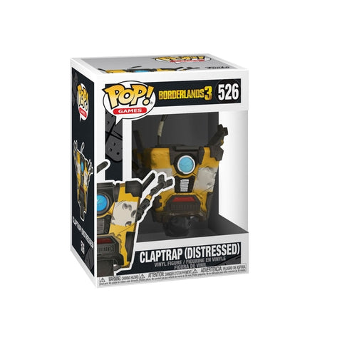 Borderlands 3 Claptrap std pop
