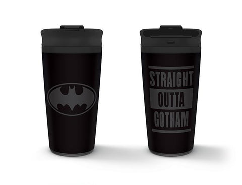 Batman Gotham metal travel mug