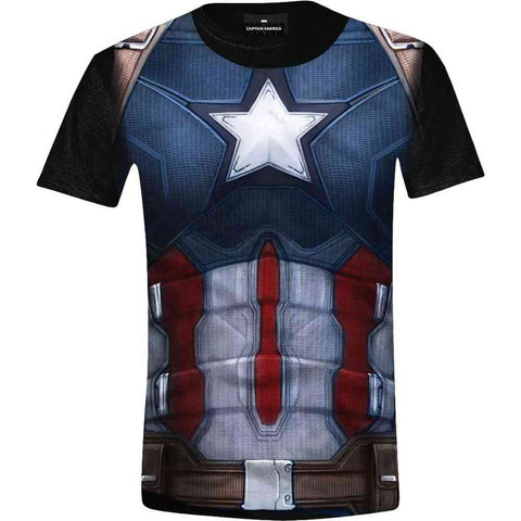 Captain America T shirt L