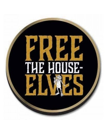 Harry Potter Free the House Elves Dobby Pin Badge