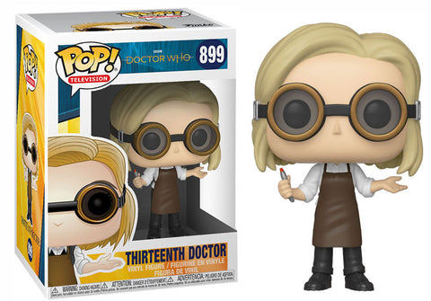 Doctor Who 13th Dr w/goggles std pop