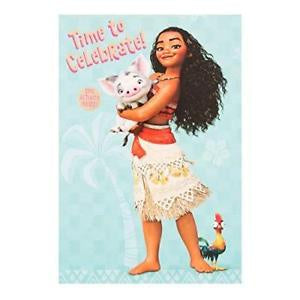 Moana Time to Celebrate card