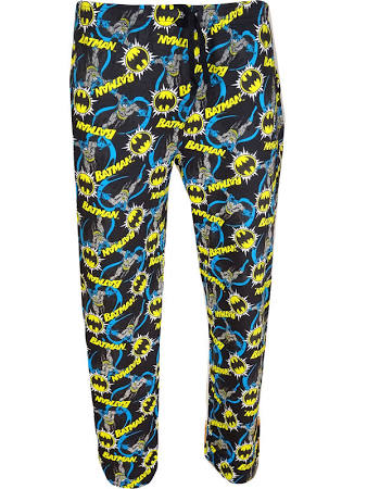 Batman print PJ bottoms S