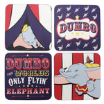 Dumbo set of 4 coasters
