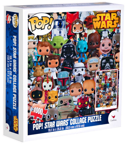 Star Wars collage puzzle 1000pc