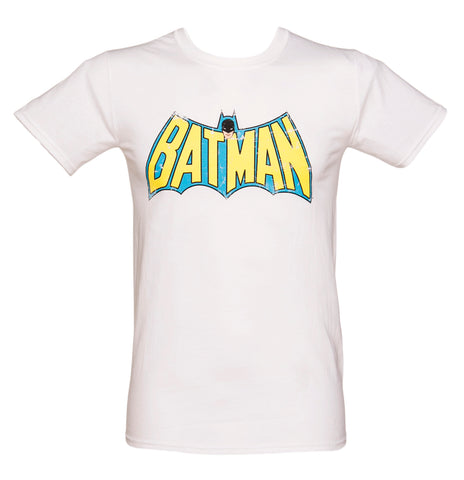Batman white logo T L